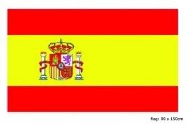 Vlag Spanje 90x150
