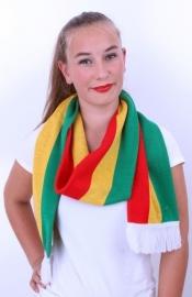 Sjaal Limburg rood/geel/groen