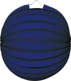 Blauwe lampion rond 23cm