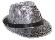 Zilveren tribly hoed