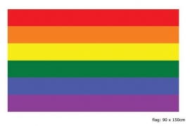 Vlag rainbow