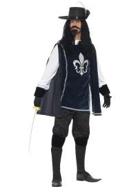 Kostuum Musketier deluxe