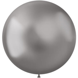 Ballonnen Intense Silver - 5 stuks