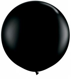 Ballonnen 90cm jumbo zwart
