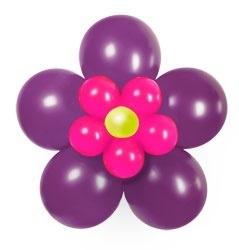 Ballonnen bloemenset