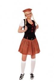 Schots dames kostuum