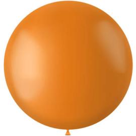 Tangerine Orange Mat Ballon