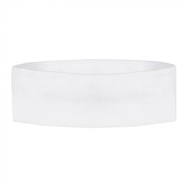 Retro hoofdband | wit