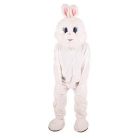 Wit konijn kostuum deluxe