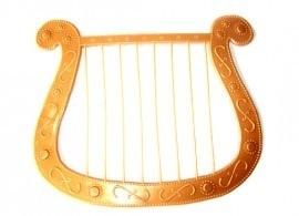 Gouden harp