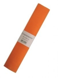Crepe papier oranje