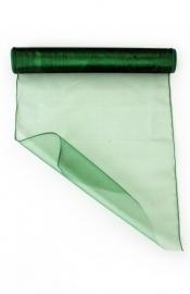 Groen organza op rol