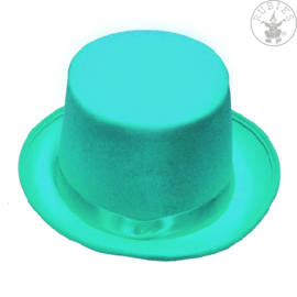 Hoge hoed vilt   Turqoise