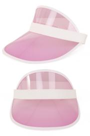 Roze 80's cap