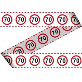 Markeerlint 70 jaar verkeersbord
