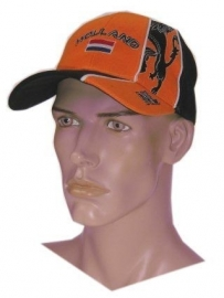 Baseball cap oranje
