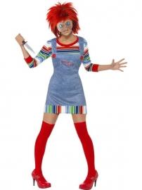 Chucky dames kostuum
