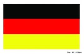 Vlag Duitsland 90x150