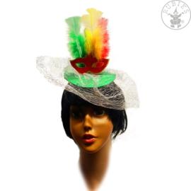 Haarband carnavalsmasker | multicolor