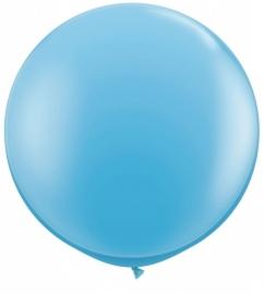 Ballonnen 90cm jumbo blue pale