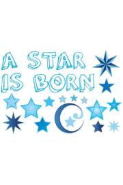 Adhesive A star is born jongen
