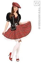 Schots dames kostuum compleet