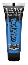 Gezicht en body verf Neon GID blauw
