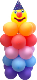 Clown pilaar DIY balloon kit