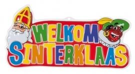 Hangdecoratie Welkom Sinterklaas