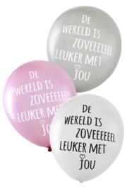 Ballonnen zoveel leuker