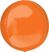 Folieballon Orbz oranje (40cm)