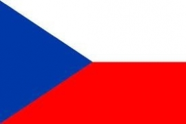 Vlag Tsjechie 90x150