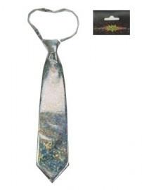 Zilveren stropdas