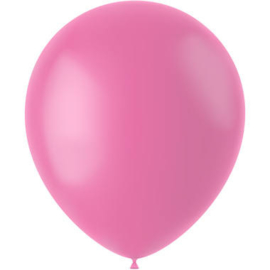 Ballonnen Rosey Pink Mat