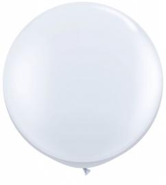Ballonnen 90cm jumbo wit