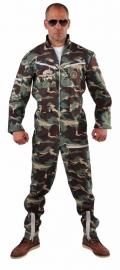 Piloot camouflage kostuum