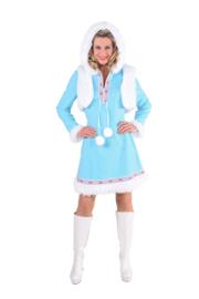 Eskimo jurkje dame ice blue