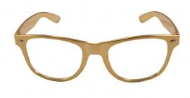 Partybril goud