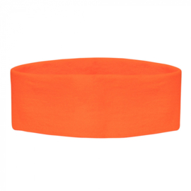 Retro Hoofdband | neon oranje