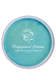 Schmink aqua PXP metallic blauw 30gr
