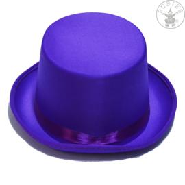 Hoge hoed vilt   Violet
