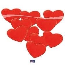Grote hartjes Confetti