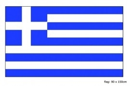 Vlag Griekenland 90x150