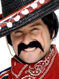 Snor Mexicaanse bandiet