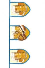 Oktoberfest bier fun vlaggenlijn