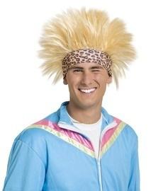 Johnny pruik blond
