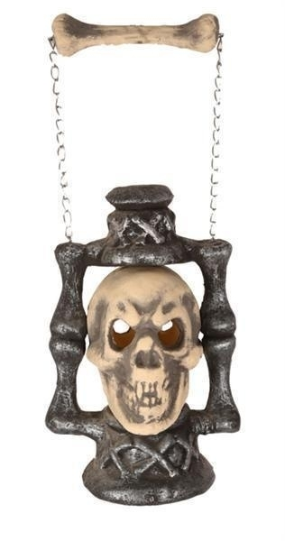 Skull lantaarn met LED verlichting