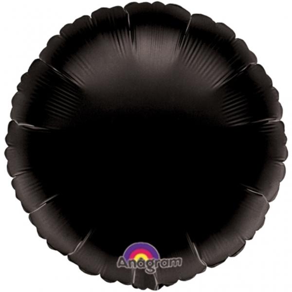 Folieballon zwart incl. helium