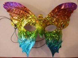 Oogmasker Domino vlinder