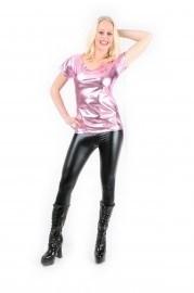 Roze bling t-shirt